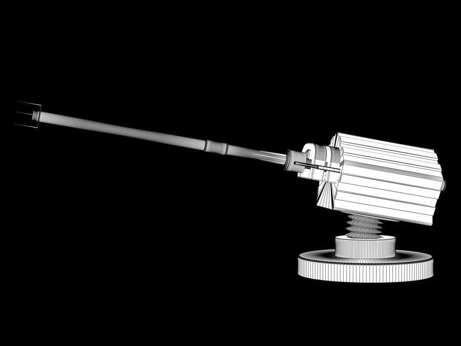 artillery sci-fi cannon royalty-free 3d model - Preview no. 5