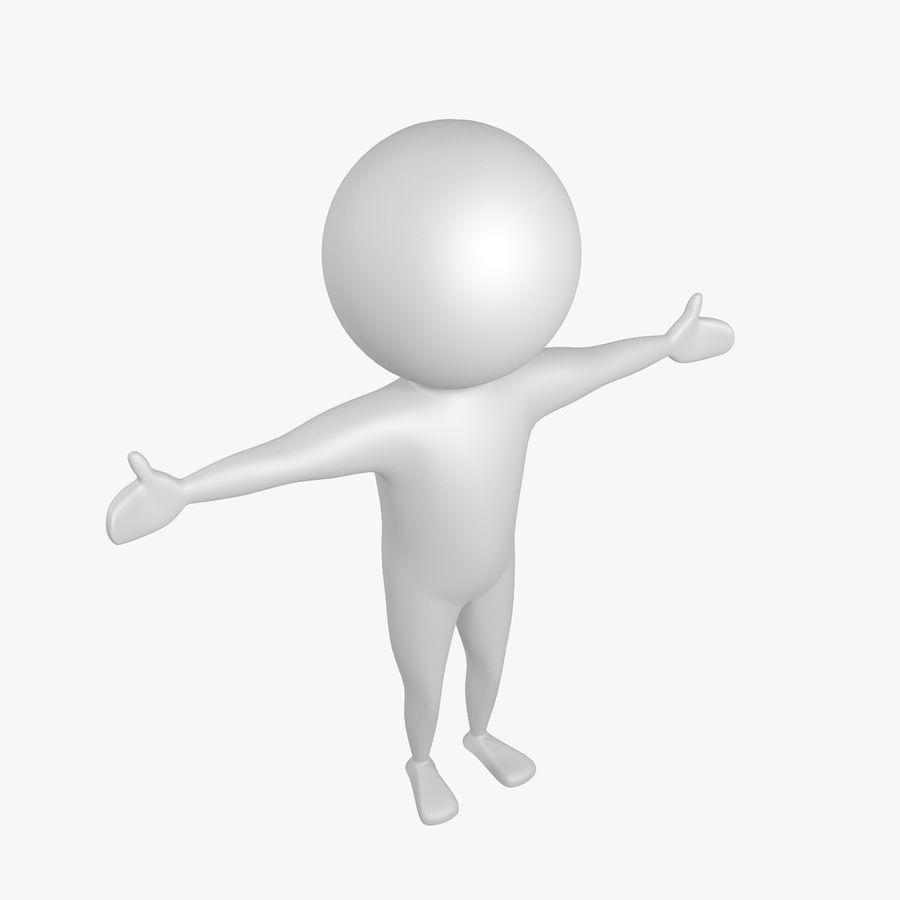 Виртуальный человек royalty-free 3d model - Preview no. 5