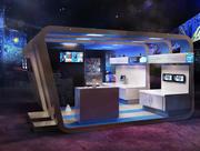 Utställningsdesign Intel 3d model