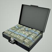 Money Suitcase 3d model