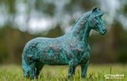 Bronze Pferdeskulptur 3d model