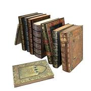 Kolekcja starych książek 3d model