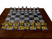 schackbräde 3d model