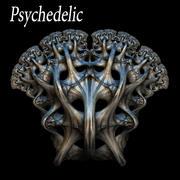 Psychedelic 3d model
