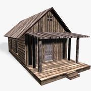 Old Cottage I Low Poly 3d model