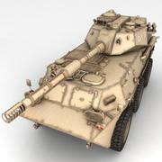 Rusty Tank Destroyer 3d model