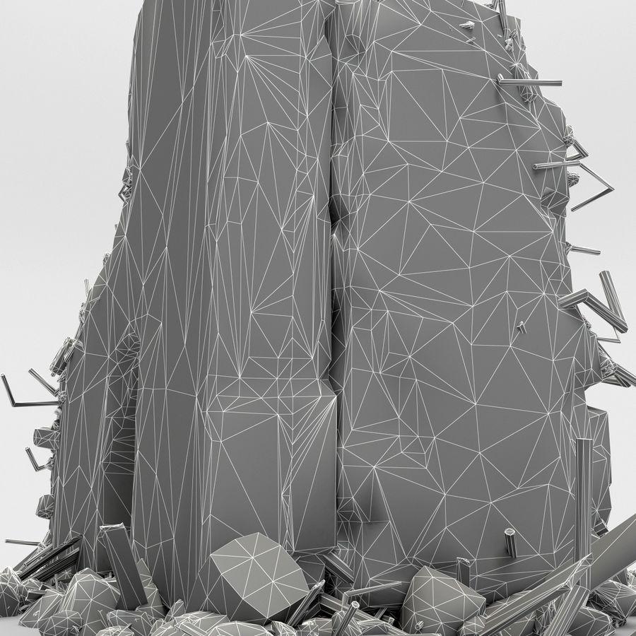 Ruinas de edificios royalty-free modelo 3d - Preview no. 15