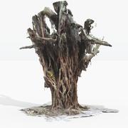 Złożone drzewo 3d model
