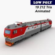 机车2ES6 3d model