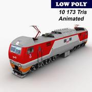 Lokomotif EP2K 3d model