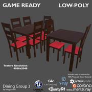 Grupa posiłków 3 3d model