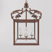 antike Lampe 3d model