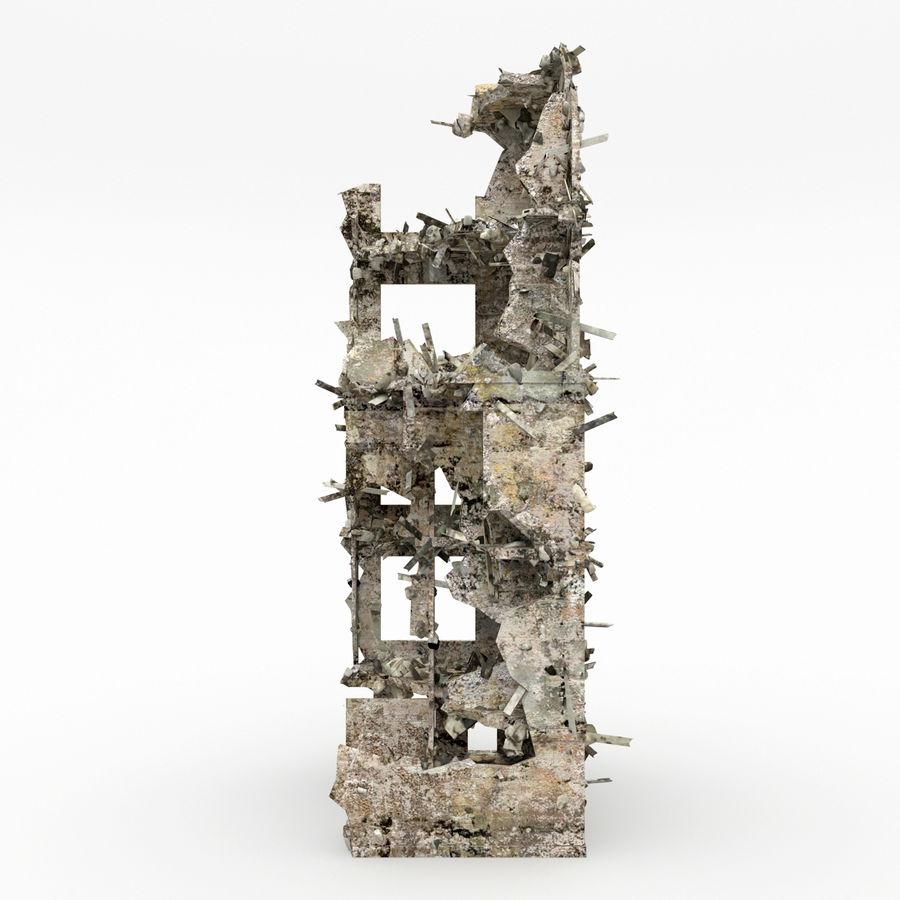 Förstör byggnader royalty-free 3d model - Preview no. 7