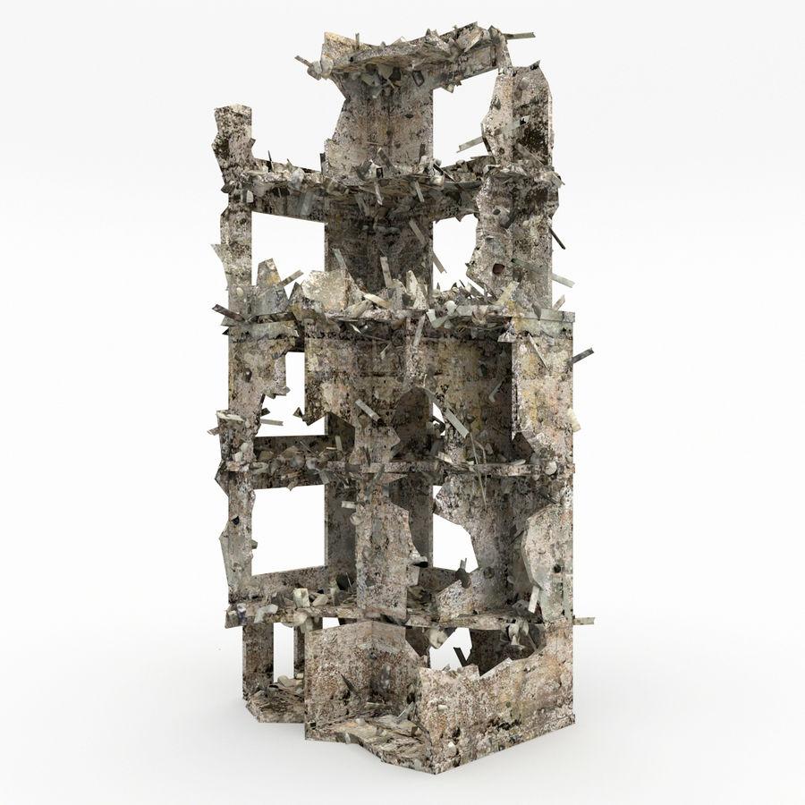 Förstör byggnader royalty-free 3d model - Preview no. 1