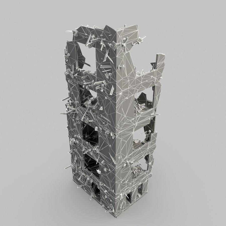 Förstör byggnader royalty-free 3d model - Preview no. 15
