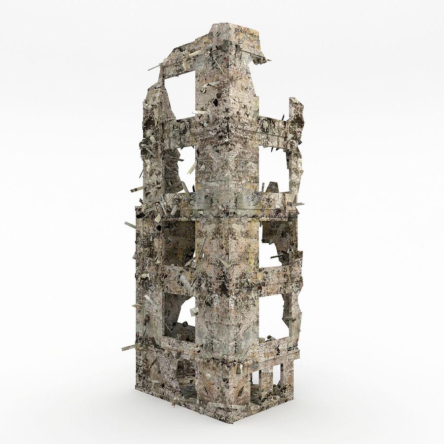 Förstör byggnader royalty-free 3d model - Preview no. 2