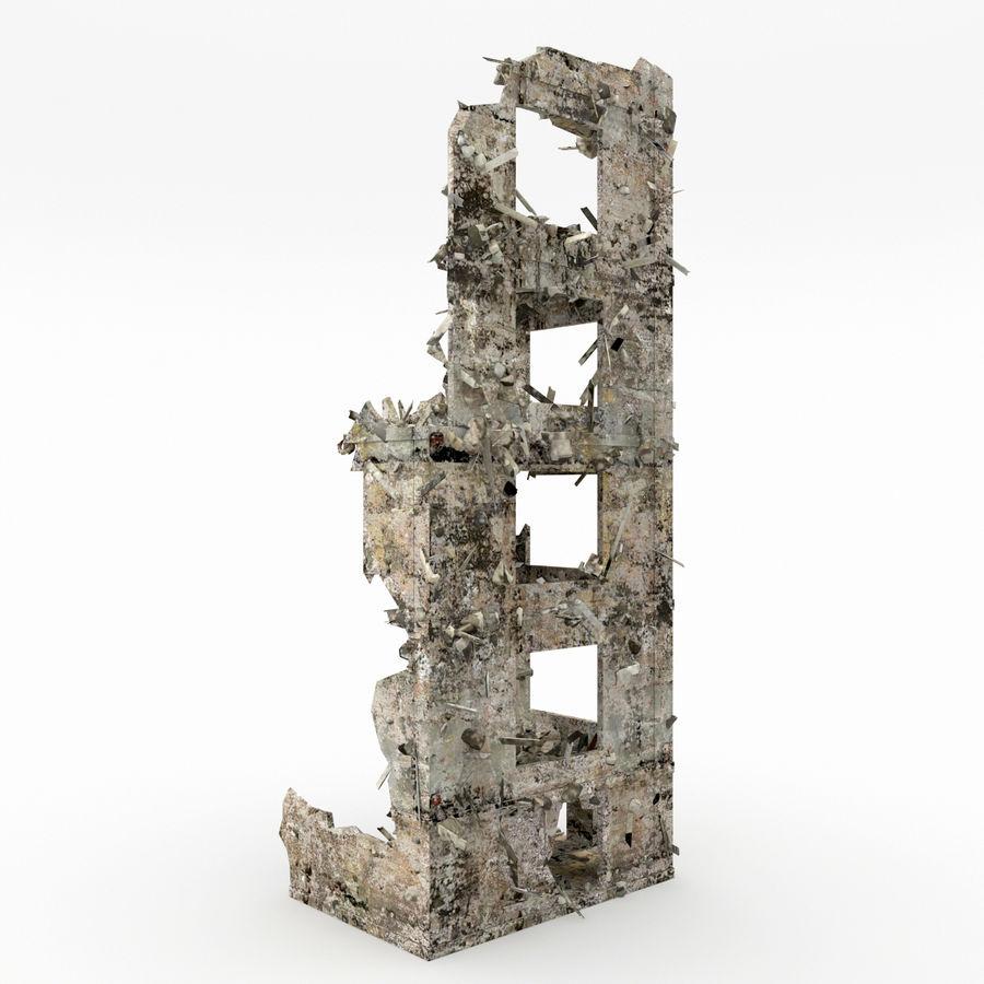 Förstör byggnader royalty-free 3d model - Preview no. 3