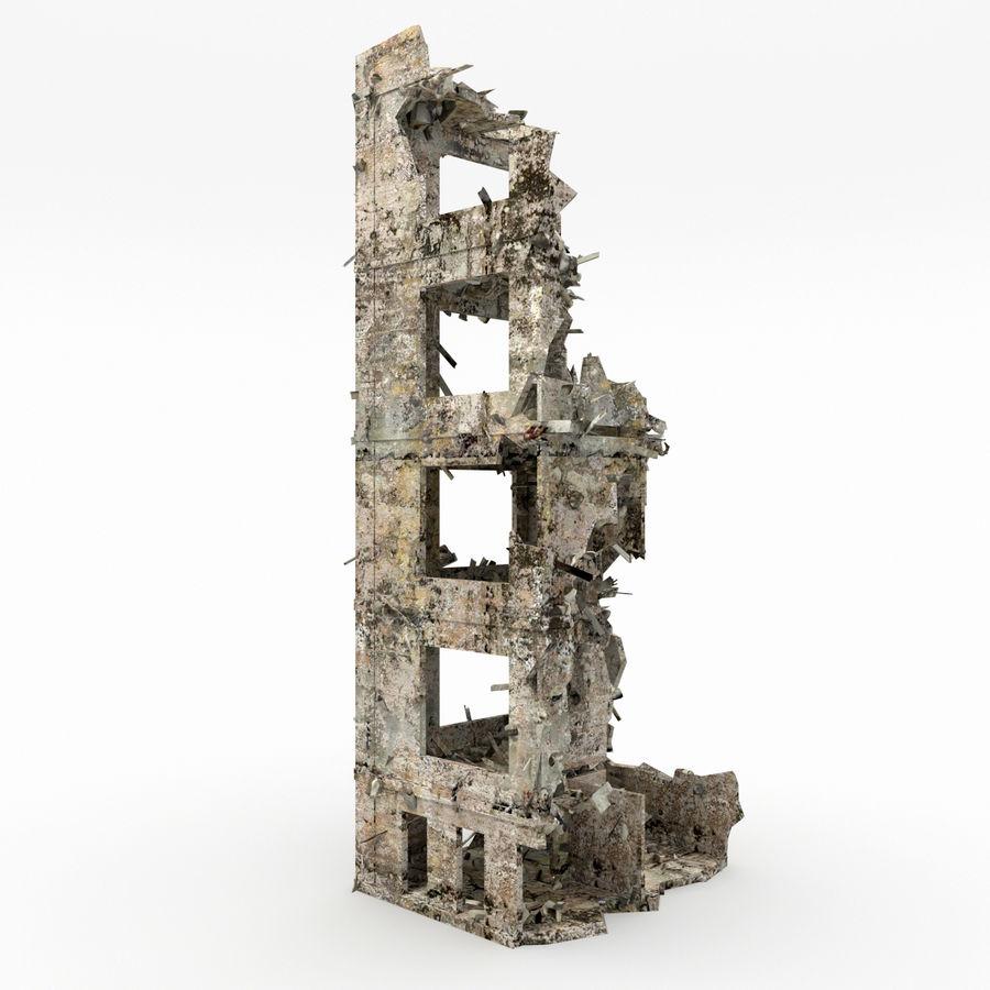 Förstör byggnader royalty-free 3d model - Preview no. 4