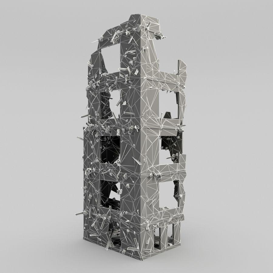 Förstör byggnader royalty-free 3d model - Preview no. 10