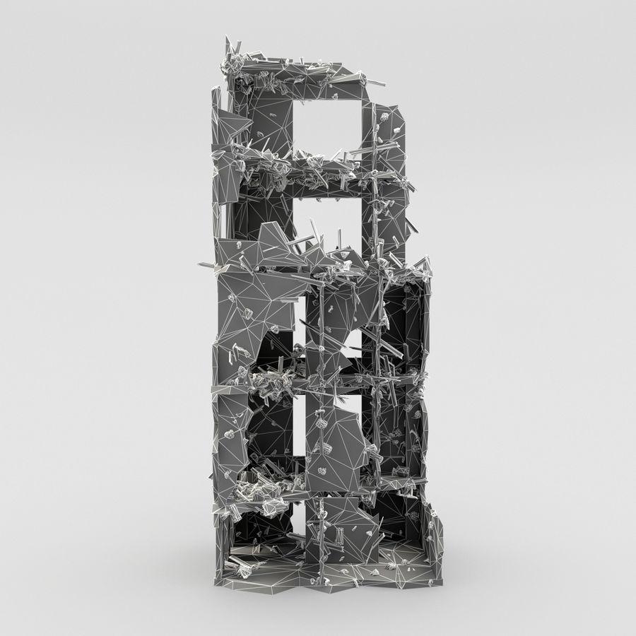 Förstör byggnader royalty-free 3d model - Preview no. 9