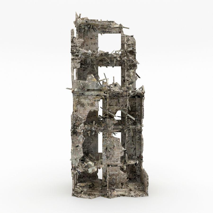 Förstör byggnader royalty-free 3d model - Preview no. 8
