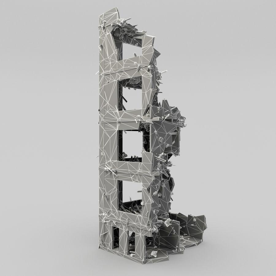 Förstör byggnader royalty-free 3d model - Preview no. 13