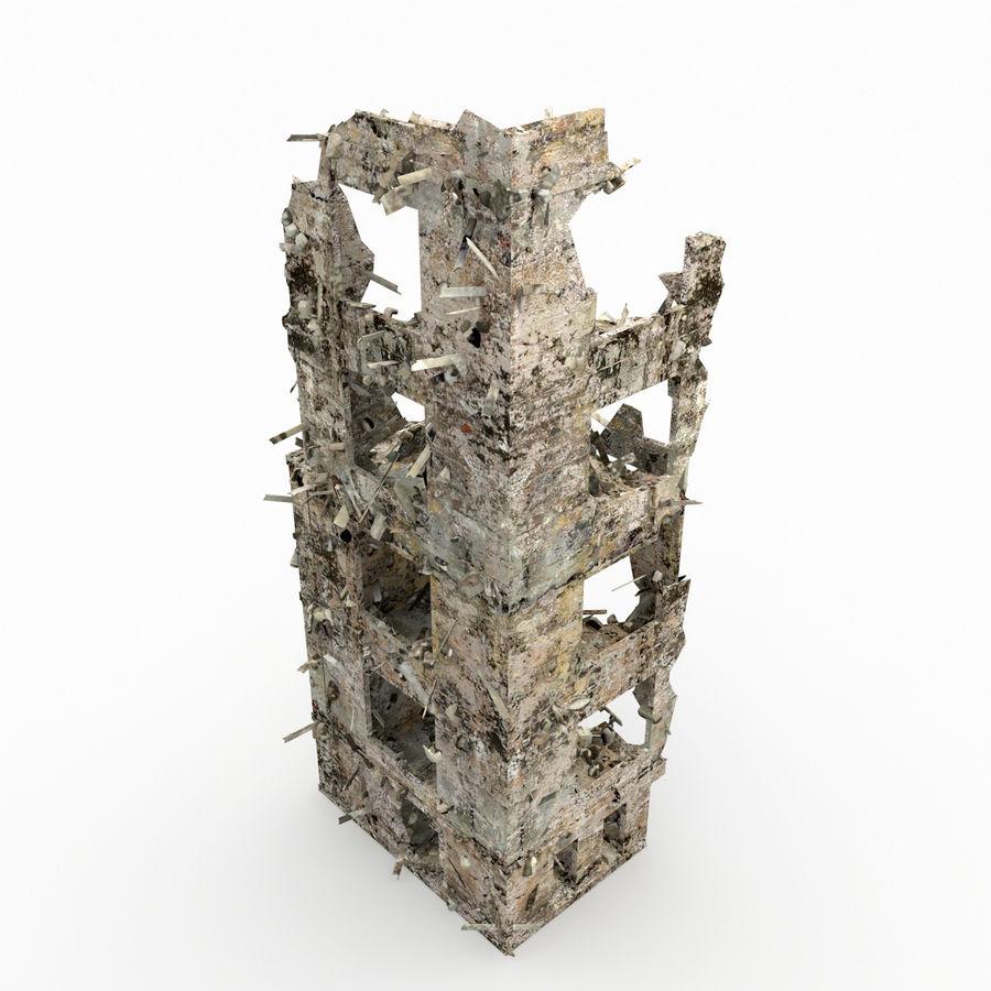 Förstör byggnader royalty-free 3d model - Preview no. 6