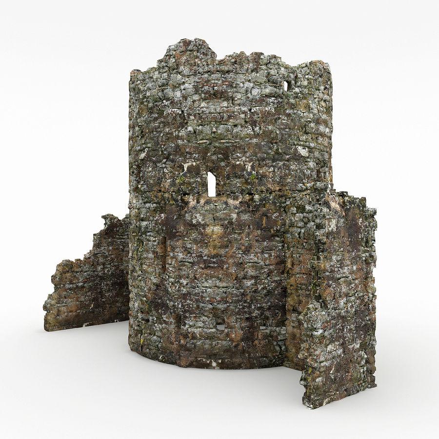 废墟塔 royalty-free 3d model - Preview no. 1