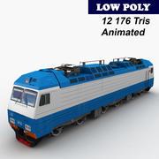 Locomotora EP10 modelo 3d