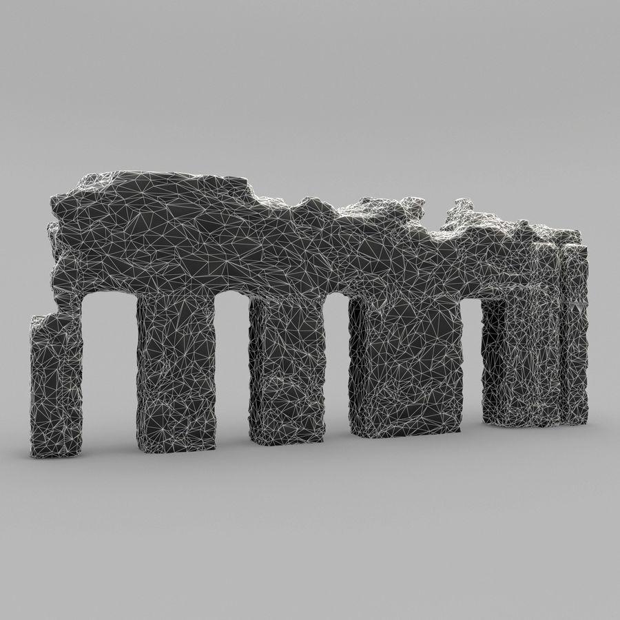 破坏建筑物 royalty-free 3d model - Preview no. 14