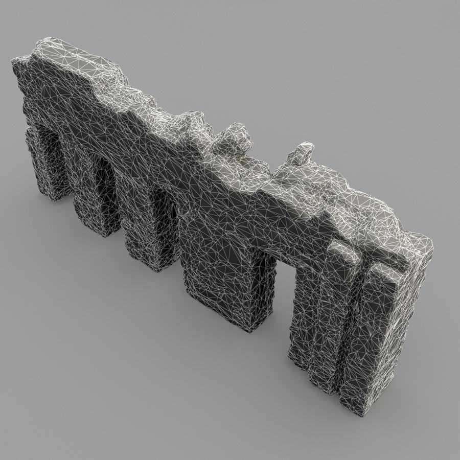 破坏建筑物 royalty-free 3d model - Preview no. 9