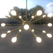 Żyrandol Sputnik 2 3d model