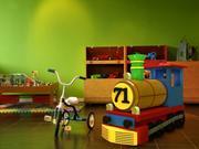 Toy Train 3d model