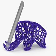 Mammoth Holder for Mobile Phone 3D para impressão 3d model