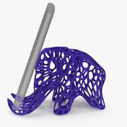 Mammuthalter für Handy 3D bedruckbar 3d model