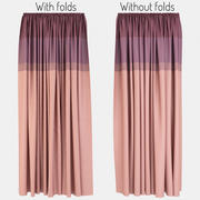 Curtains Lines 3d model