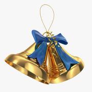 xmas bells 3d 3d model