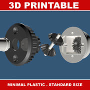 RC Differential 3d model