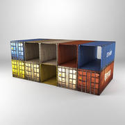contenitori 3d model