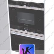 micro-ondes + four + four 3d model