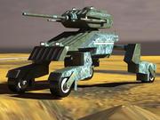 科幻坦克 3d model