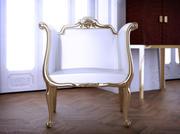 Franse stoel 3d model
