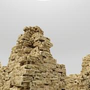 Ruines Forteresse 3d model