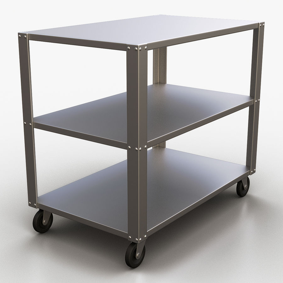 Medical Cart royalty-free 3d model - Preview no. 1