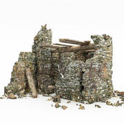 Kalıntılar kule 3d model
