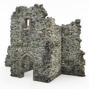 Ruïnes kasteel 3d model