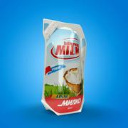 Mleko ekologiczne 3d model