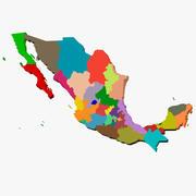 Mexico 3D Map 3d model