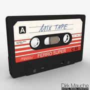 müzik kaseti 3d model