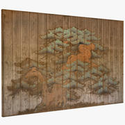 Ancient Asian Mural 3d model